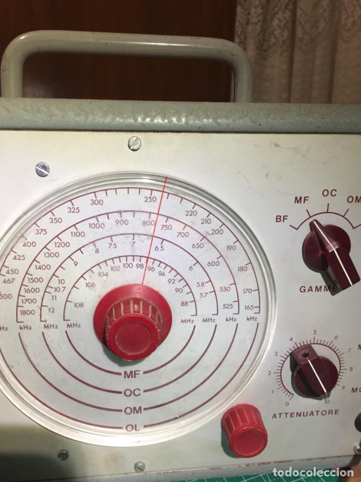Radios antiguas: Generador Modulador Electra Torino - Foto 2 - 234760285