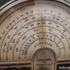 Radio antiche: GENERADOR RF LABORATORIOS RADIO A-49. Lote 235634690