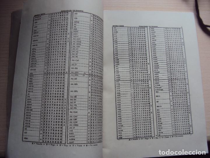 Radios antiguas: COMPROBADOR DE VALVULAS - Foto 18 - 36461365