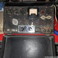 Radio antiche: COMPROBADOR LÁMPARAS VÁLVULAS. Lote 236705735