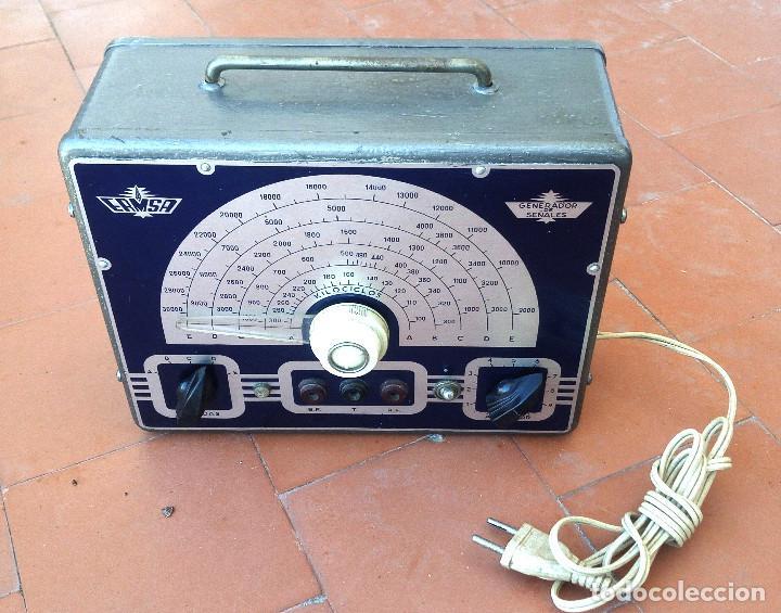 GENERADOR DE RF RADIO A VALVULAS DE ESCUELA DE RADIO MAYMO OSCILADOR MODELO 5-3....SANNA (Radios - Aparatos de Reparación y Comprobación de Radios)