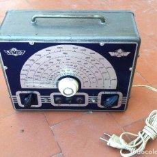 Radio antiche: GENERADOR DE RF RADIO A VALVULAS DE ESCUELA DE RADIO MAYMO OSCILADOR MODELO 5-3....SANNA. Lote 237081930