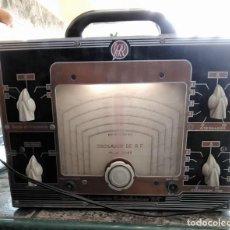 Radios antiguas: OSCILADOR DE RADIO FRECUENCIA LABORATORIO RADIOELECTRICO RR MOD 1048 ESCALA EN KC MIDE 30/21,5/13,5. Lote 243492250
