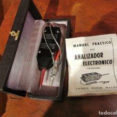 Radios Anciennes: ANALIZADOR ELECTRÓNICO – MAYMO ESCUELA RADIO BARCELONA AÑO 1963 CON ESTUCHE. Lote 243603230