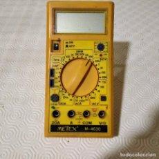 Radio antiche: TESTER - POLÍMETRO - DIGITAL - METEX M-4630 - LIQUIDACIÓN POR CIERRE DE PÁGINA. Lote 244593910