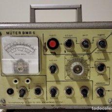 Radios antiguas: RECUPERADOR DE TRC - MARCA MÜTER BMR 5, 5 ZÓCALOS DISTINTOS - LIQUIDACIÓN POR CIERRE DE PÁGINA. Lote 244595545