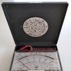 Radios antiguas: TESTER VINTAGE ANALÓGICO ICE MICROTEST 80. Lote 244866860