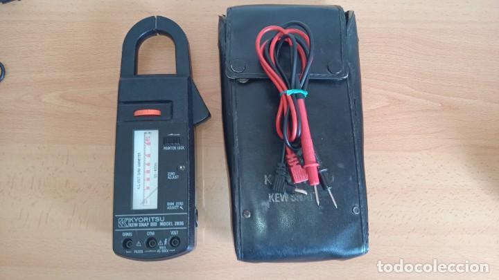 PINZA AMPERIMÉTRICA KYORITSU MOD: 2805 600V 600A (Radios - Aparatos de Reparación y Comprobación de Radios)