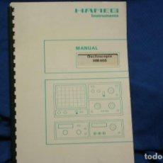 Radios antiguas: CATÁLOGO HAMEG - OSCILOSCOPIO HM 408. Lote 246880365