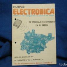 Radios antiguas: NUEVA ELECTRÓNICA - CATÁLOGO GENERAL DE KITS- ABRIL DE 1986. Lote 246884215
