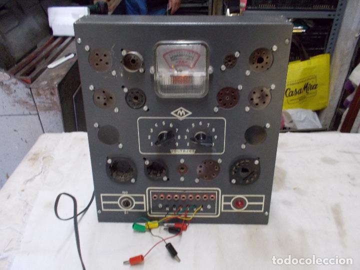 COMPROBADOR DE LAMPARAS DE MAYMO (Radios - Aparatos de Reparación y Comprobación de Radios)