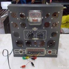 Radio antiche: COMPROBADOR DE LAMPARAS DE MAYMO. Lote 251208250