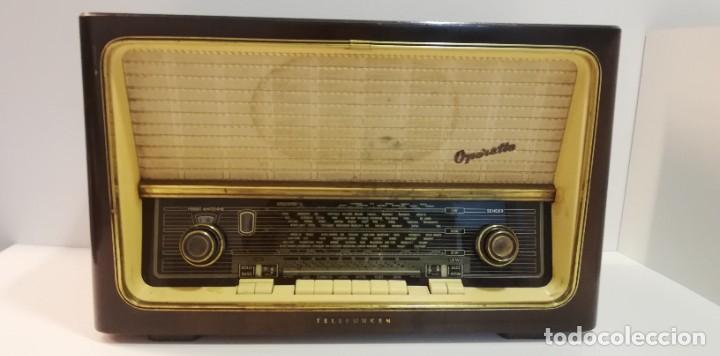ANTIGUA RADIO TELEFUNKEN, OPERETTE 8 . FUNCIONANDO MUY BUEN SONIDO!! Y ESTADO!!!!!!!!!!!! (Radios - Aparatos de Reparación y Comprobación de Radios)