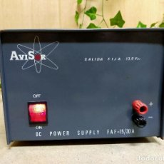 Radio antiche: RADIO AVISOR. Lote 254804560