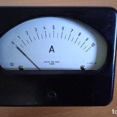 Radios antiguas: MILIAMPERÍMETRO AMPERÍMETRO DC 0-10 MILIAMPERIOS 0-10A CON SUN.. Lote 257880420