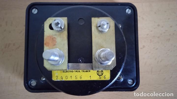 Radios antiguas: Miliamperímetro Amperímetro DC 0-10 miliamperios 0-10A con Sun. - Foto 2 - 257880420