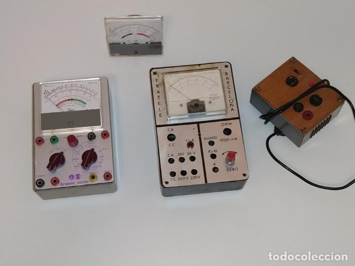 MATERIAL DEL CURSO DE RADIO ERATELE. (Radios - Aparatos de Reparación y Comprobación de Radios)