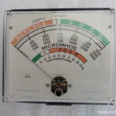 Radio antiche: INSTRUMENTO DE MEDIDA CORRESPONDIENTE AL COMPROBADOR DE VÁLVULAS Y TRANSISTORES HICKOK SERIE 6000.. Lote 258985790