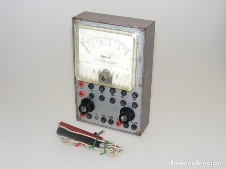 TESTER/ MULTÍMETRO DEL CURSO AFHA - CAJA METÁLICA - ANALIZADOR UNIVERSAL - NO COMPROBADO. (Radios - Aparatos de Reparación y Comprobación de Radios)