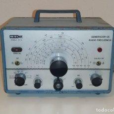 Radios antiguas: GENERADOR DE RADIO RF-BF RETEXKIT MODELO RF-2.. Lote 262472005