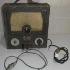 Radios antiguas: GENERADOR DE SEÑALES DE RADIO LABORATORIOS RADIO GH MOD. U-50, MADE IN SPAIN, VALENCIA. Lote 262871175