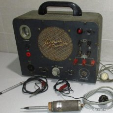 Radios antiguas: SIGNAL TRACER, RASTREADOR DE SEÑAL, VALGIFSON RADIO MOD. T4 MADE IN SPAIN, BARCELONA. Lote 262873925