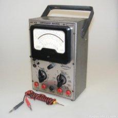 Radio antiche: ANTIGUO TESTER AÑOS 60/70 - MARCA RADIOMÉTRICO - COMPROBADOR UNIVERSAL MF-102 - FUNCIONA.. Lote 262882820