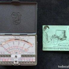 Radio antiche: ICE SUPERTESTER 680 R. MILANO ITALY. AÑOS 70. FUNCIONANDO. MUY BUENA CONSERVACIÓN (2). Lote 262885570