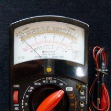 Radio antiche: MULTÍMETRO TESTER HONOR. MOD. TE-1230. JAPÓN, AÑOS 60. FUNCIONANDO. Lote 262886260