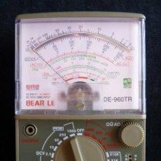 Radio antiche: MULTÍMETRO TESTER BEAR LE, MOD. DE-960 TR. FUNCIONANDO. Lote 262886380