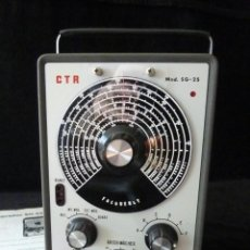 Radio antiche: GENERADOR DE SEÑALES SG-25. CTR CONRAD ELECTRONIC VOLTCRAFT. ALEMANIA, 1967. FUNCIONANDO. Lote 262887065