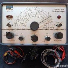 Radio antiche: GENERADOR DE RADIO FRECUENCIA RF RETEX KIT, MOD. RF-2. HOSPITALET DE LLOBREGAT, 1974. FUNCIONANDO. Lote 262887440