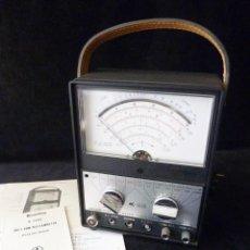 Radios antiguas: VOLTÍMETRO PARA TUBOS DE VACIO. KEW K-1420. VACCUM TUBE VOLTMETER. JAPAN. AÑOS 60. FUNCIONANDO. Lote 262887690
