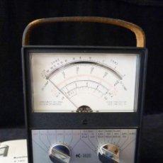 Radios antiguas: VOLTIMETRO, OHMÍMETRO, MILLIÁMETRO K-1400. KYORITSU ELECTRICAL INSTRUMENT, JAPÓN, 1978. FUNCIONANDO. Lote 262887825