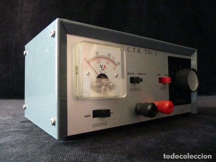 Radios antiguas: FUENTE DE ALIMENTACION DE BAJA TENSION VOLTAJE. C.T.R. TNG-1. FUNCIONANDO - Foto 4 - 262891550