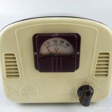 Radio antiche: ANTIGUO ELEVADOR REDUCTOR T.V. MARCA RISCAL BAQUELITA AÑOS 60.. Lote 265123484