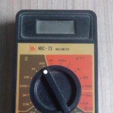 Radios antiguas: ELECTRONICA, ANTIGUO APARATO MEDICION MULTIMETER - NO SE SI FUNCIONA BIEN. Lote 265934238
