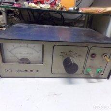 Radios antiguas: CAPACIMETRO SK.72. Lote 267823334