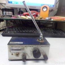 Rádios antigos: INDICATOR R.F.FIELD RADIO ZOMMAS-CAR. Lote 267824644