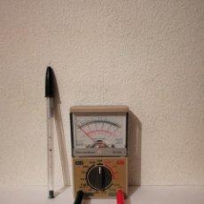 Radios antiguas: MEDIDOR AMPERIOS ELECTRICIDAD TRENES - DEMESTRES DC - MODELO HC-1015 - MICROAMPERIMETRO. Lote 268179724