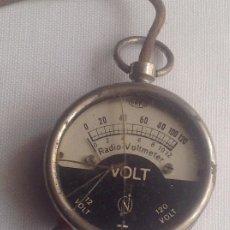 Rádios antigos: ANTIGUO RADIO VOLTÍMETRO ORIGINAL, SE DESCONOCE SU FUNCIONAMIENTO. Lote 269357648