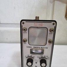 Radios antiguas: SIGNAL TRACER INJECTOR SE 360 RASTREADOR DE SEÑAL TRAZADOR 1974. Lote 270127748