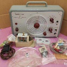 Rádios antigos: GENERADOR RF ELETTRA (ERATELE) MODELO 412 + ALGUNOS REPUESTOS PARA EL PROPIO APARATO. Lote 274447483