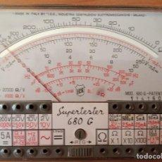 Radio antiche: TESTER ICE MILANO SUPERTESTER 680 G - POLIMETRO - MULTIMETRO. Lote 274646218