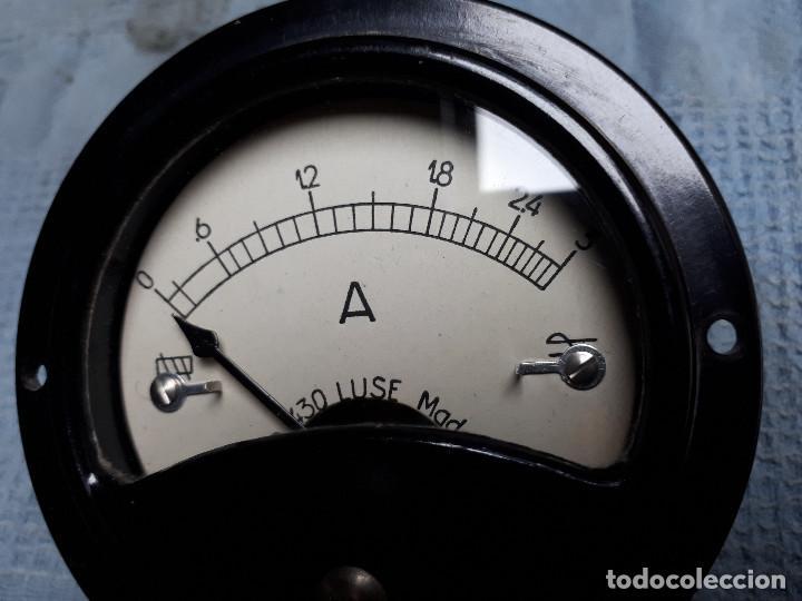 AMPERIMETRO ANTIGUO TIPO 430 LUSE SPAIN (Radios - Aparatos de Reparación y Comprobación de Radios)