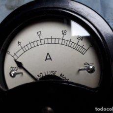 Radios antiguas: AMPERIMETRO ANTIGUO TIPO 430 LUSE SPAIN. Lote 276548323