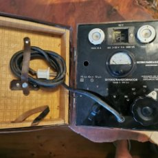 Radios antiguas: MALETA RADIO TRANSFORMADOR SKYDDSTRANSFORMATOR BEJTINGS RADIO ELEKTRISKA STOCKHOLM. Lote 277460738