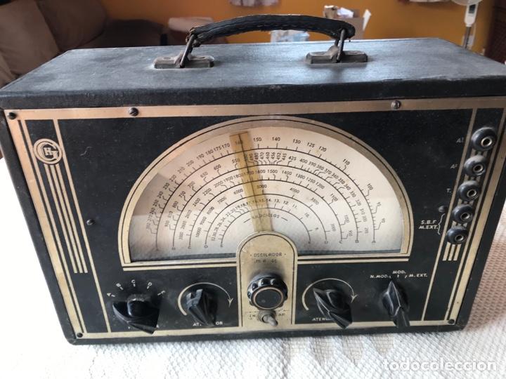 ANTIGUO OSCILADOR O GENERADOR DE FRECUENCIA (Radios - Aparatos de Reparación y Comprobación de Radios)