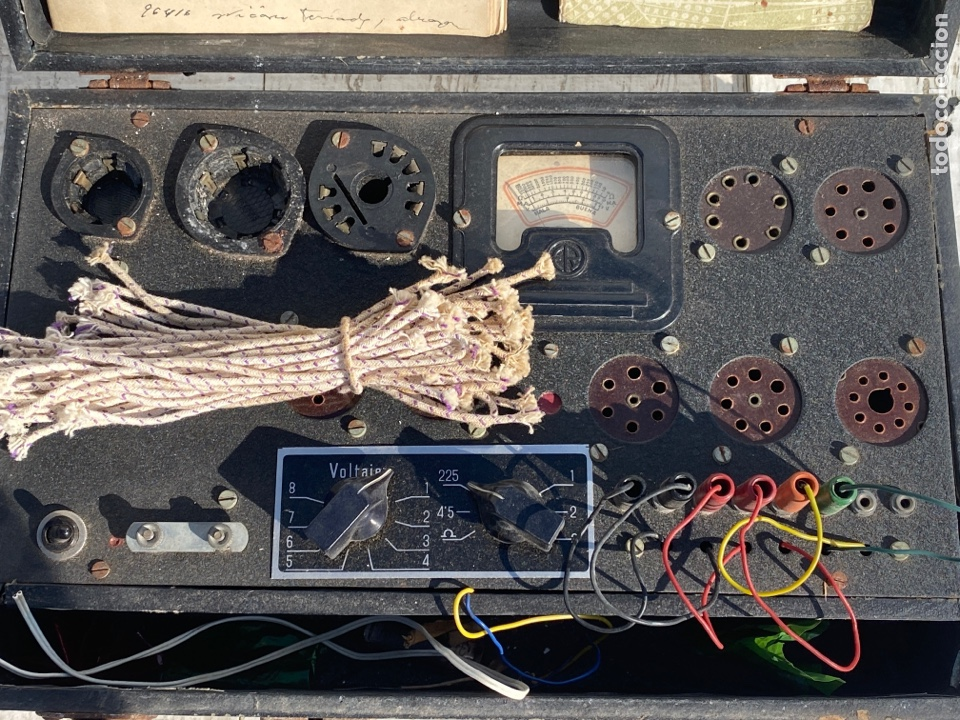 Radios antiguas: Antiguo comprobador de valvulas de radio - Foto 2 - 278810028