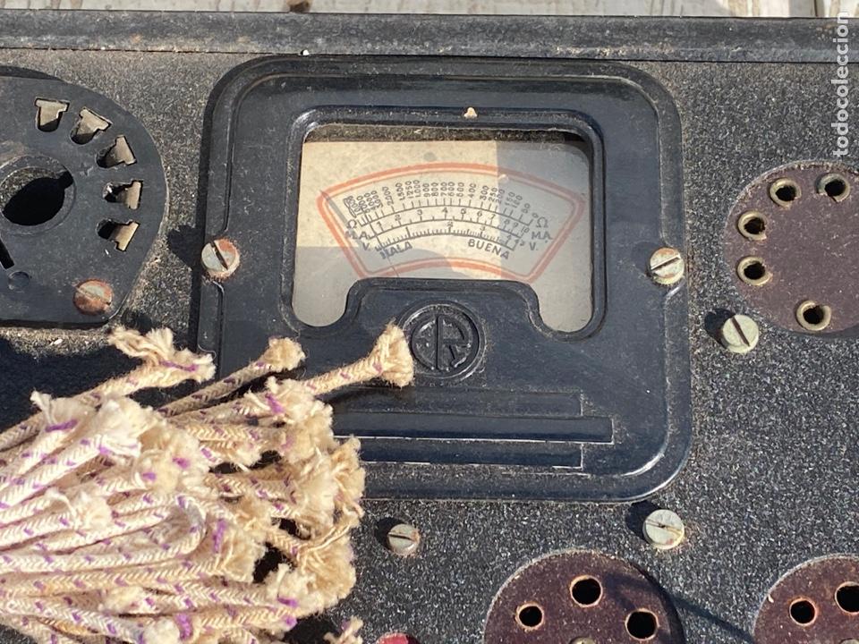 Radios antiguas: Antiguo comprobador de valvulas de radio - Foto 3 - 278810028